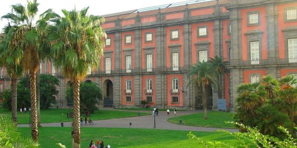Capodimonte Palace in Naples, Campania
