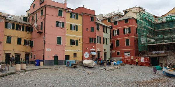 The romantic village in Boccadasse, Genoa