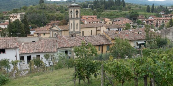 Greve in Chianti - village nearby Florence in Tuscany