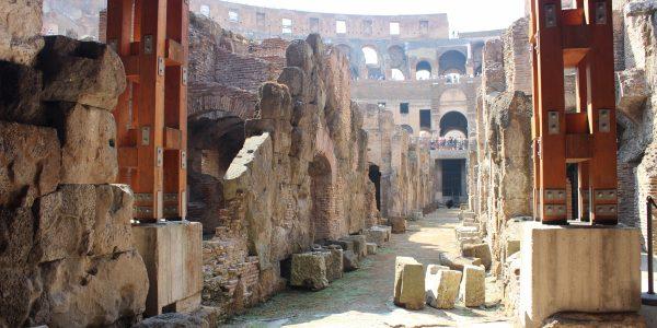 Colosseum underground in Rome