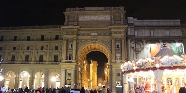 Piazza della Repubblica in Florence
