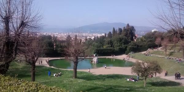 The Boboli Garden in Florence