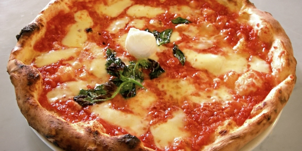 Pizza Margherita from Italy