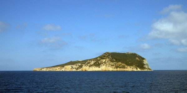 Zannone is one of the Pontine Islands
