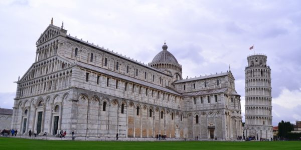 The Leaning Tower and Cathedral of Pisa