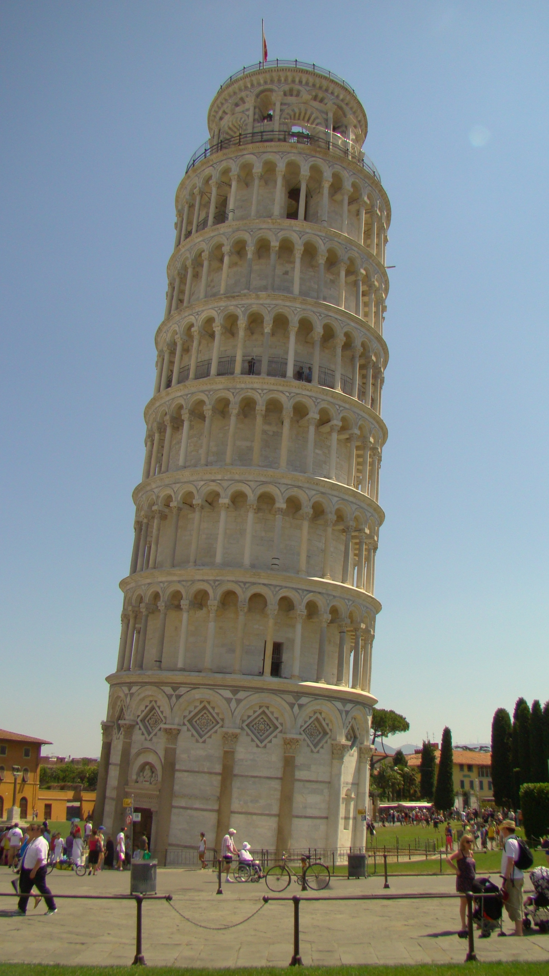 The leaning tower of pisa and the square of miracles learn about italy - Leaning tower of pisa ...