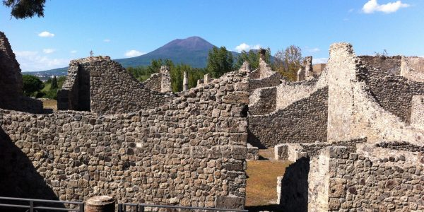 Archeology excavations in Pompeii