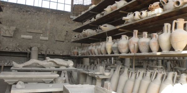 Archeology findings from Pompeii