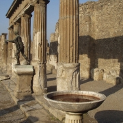 Columnar pool in Pompeii