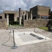 Columns in Pompeii
