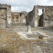 House wall in Pompeii