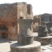 Kitchen oven in ruins, Pompeii