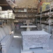 Pottery storage in Pompeii