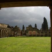 Rain over Pompeii
