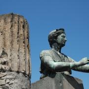 Statue in Pompeii