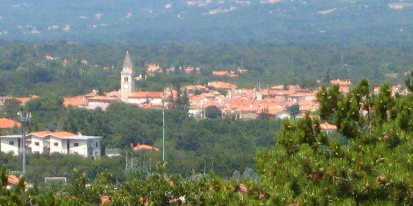 Prosecco suburb of Trieste in Friuli-Venezia Giulia