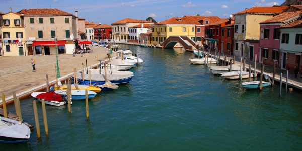 Venice channel at San Donato, Murano