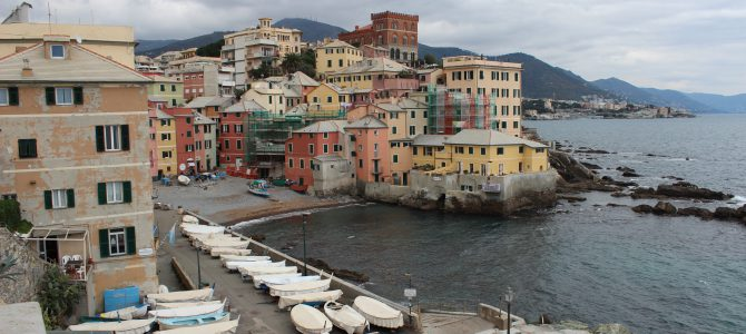 Boccadasse at the End of Corso Italia